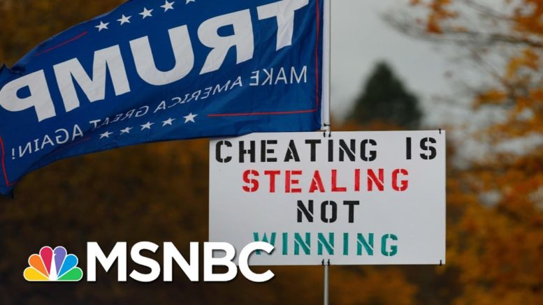 'Four Seasons Total Lawyering': Why Trump Voter Fraud Lawsuits Are 'Meritless'   All In   MSNBC 1