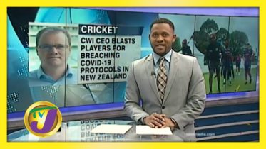 CWI CEO Blasts Players for Breaching Covid-19 Protocols - November 11 2020 6