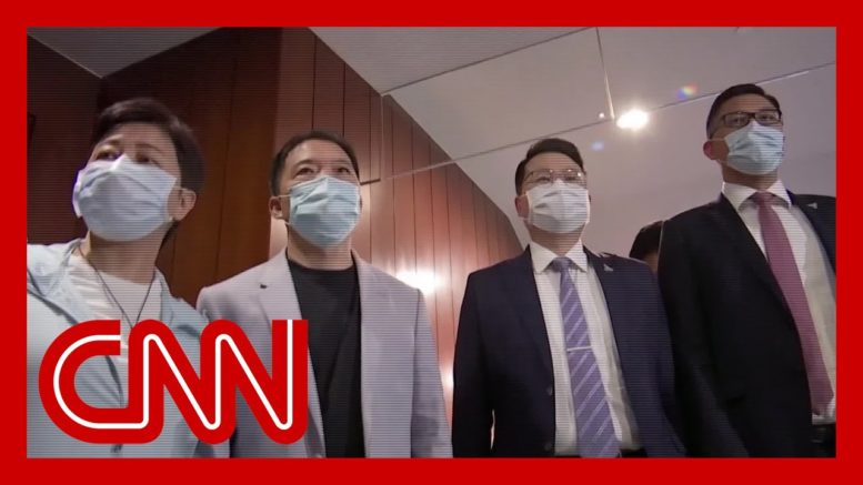 This is how China reacted to the mass resignation of Hong Kong pro-democracy lawmakers 1