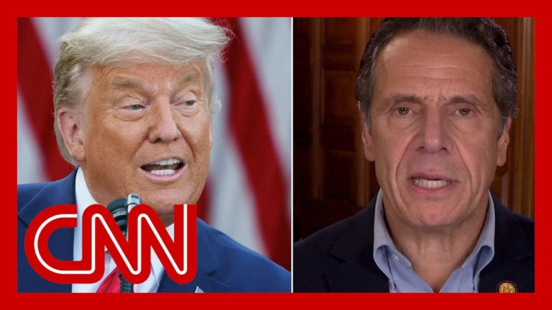 Trump threatens to deny New York a vaccine. See governor's response 1
