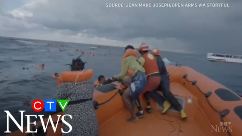 Harrowing calls from a mother who lost her baby at sea 1