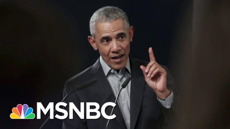 Obama Blasts Republicans Refusing To Accept Biden's Win Over Trump | The 11th Hour | MSNBC 1