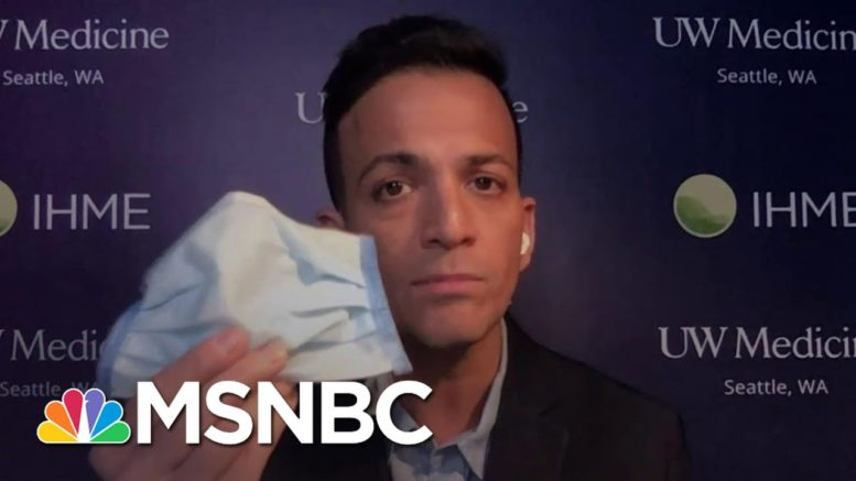 Dr. Vin Gupta Explains Which Masks Best Protect From Covid-19 | The 11th Hour | MSNBC 1