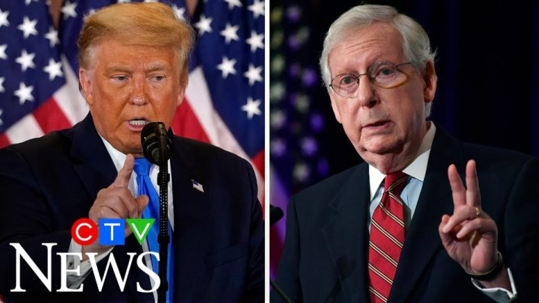 """""""Mitch McConnell has been absolutely silent"""": Are Senate Republicans starting to abandon Trump? 1"""