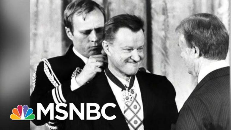 Conversation On Zbigniew Brzezinski Set For Friday | Morning Joe | MSNBC 1