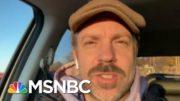 Jason Sudeikis' Benefit Concert Raises Money For Prosthetics   Morning Joe   MSNBC 3