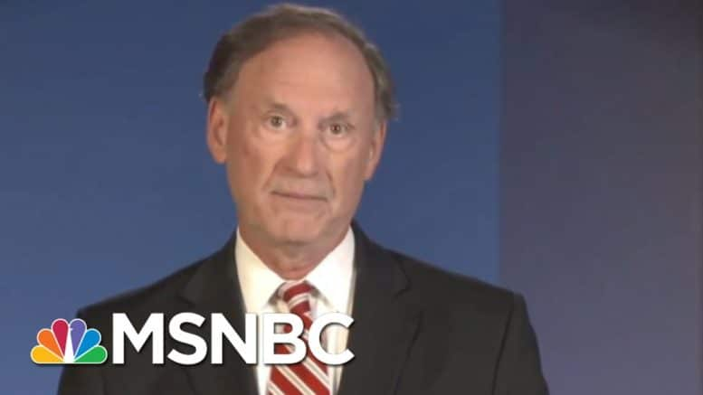 Justice Alito Delivers Politically-Charged Speech On Covid, LGBTQ Rights | Ayman Mohyeldin | MSNBC 1