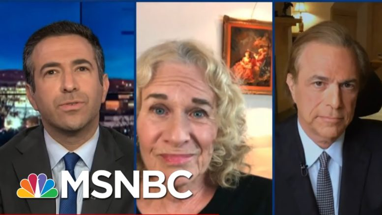 After Trump Loss, Carole King Rallies The 'American Mosaic' | The Beat With Ari Melber | MSNBC 1
