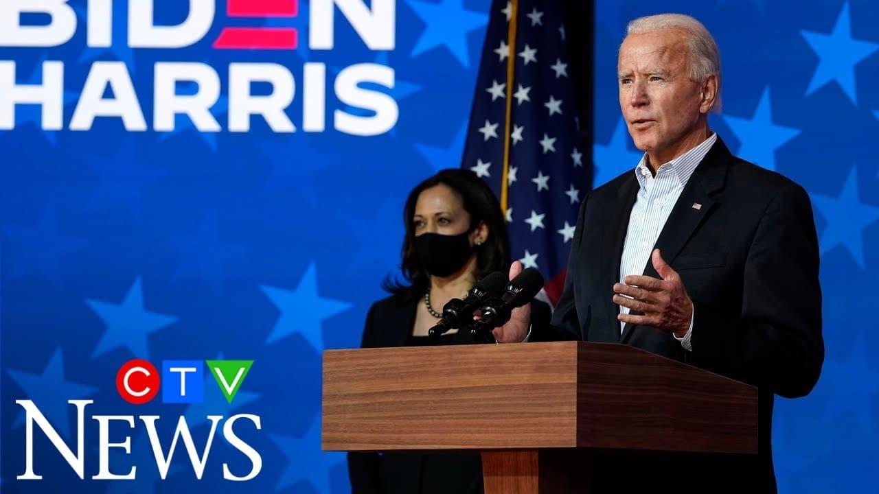 Biden speaks from Delaware: 'Each ballot must be counted' 6