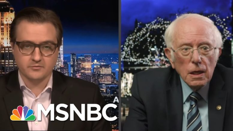 Bernie: Charles Koch Should Undo His Damage By Using His Money For 'Justice'   All In   MSNBC 1