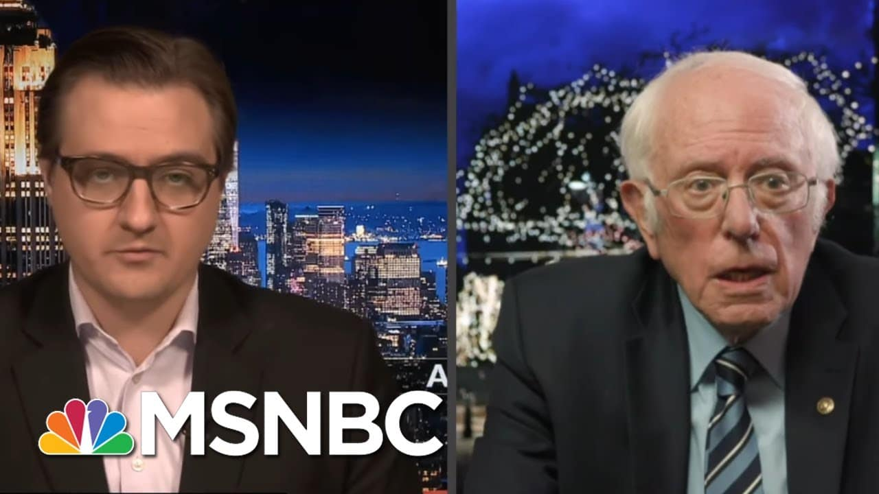Bernie: Charles Koch Should Undo His Damage By Using His Money For 'Justice'   All In   MSNBC 8