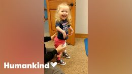 Toddler takes first steps after multiple surgeries | Humankind 5