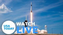 NASA AND SPACEX LAUNCH CREW DRAGON (LIVE) | USA TODAY 5