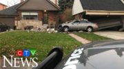 Car slams into Toronto home, teen arrested in connection 4
