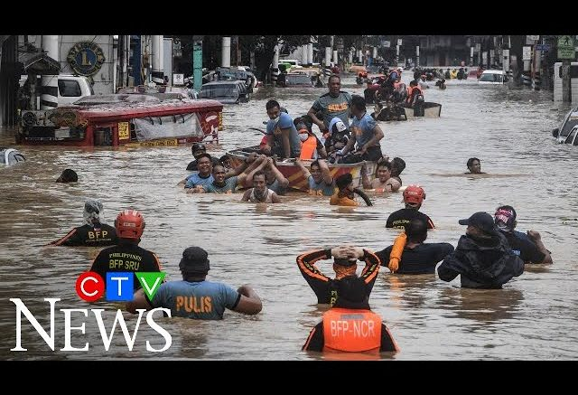 Typhoon Vamco makes landfall in the Philippines 1