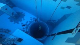 World's deepest diving pool opens in Poland 1