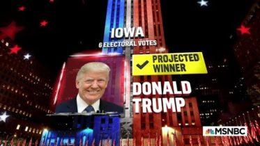 Trump Wins Iowa, NBC News Projects   MSNBC 6