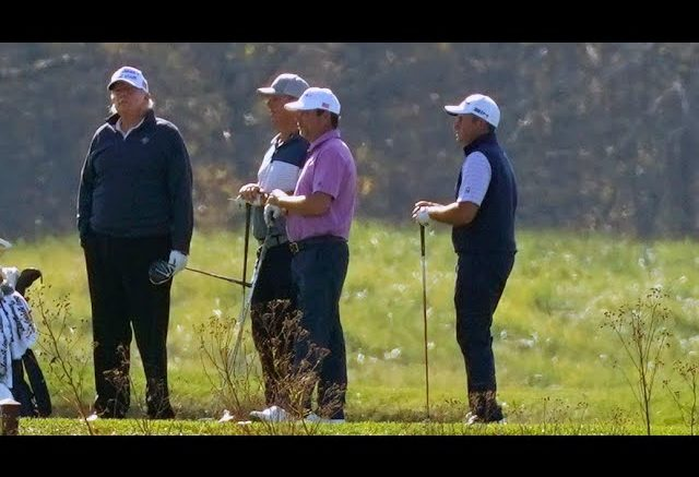 Trump was golfing in Virginia as AP called race for Biden 1