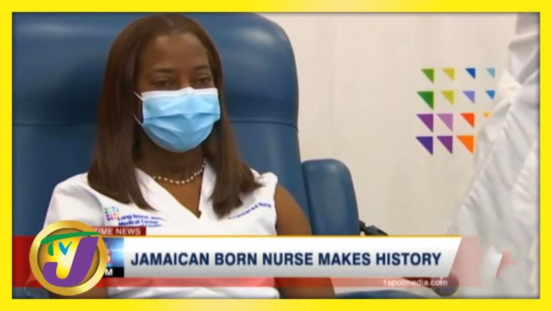 Jamaican Born Nurse Makes History - December 14 2020 1