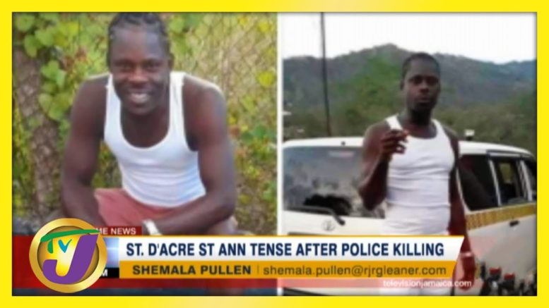 St. Ann Community Tense After Police Killing - December 14 2020 1