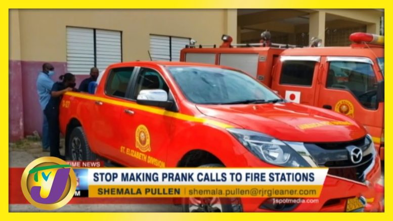 Jamaica Fire Brigade seeing Increase in Prank Calls- December 14 2020 1