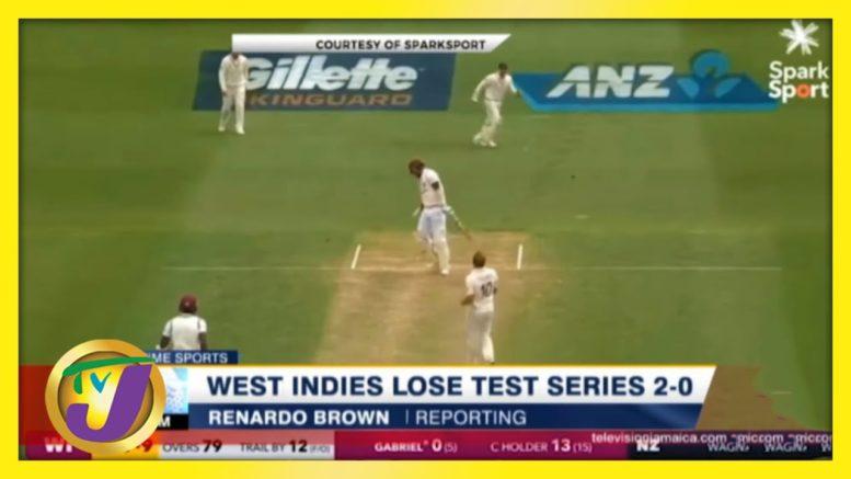 West Indies Loses Test Series - December 14 2020 1