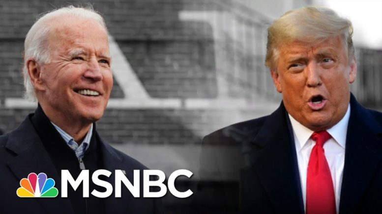 McConnell Accepts Reality, Trump Still Won't Concede To Biden   The 11th Hour   MSNBC 1