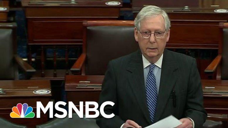 Sen. McConnell Finally Recognizes Biden's Victory | Morning Joe | MSNBC 1