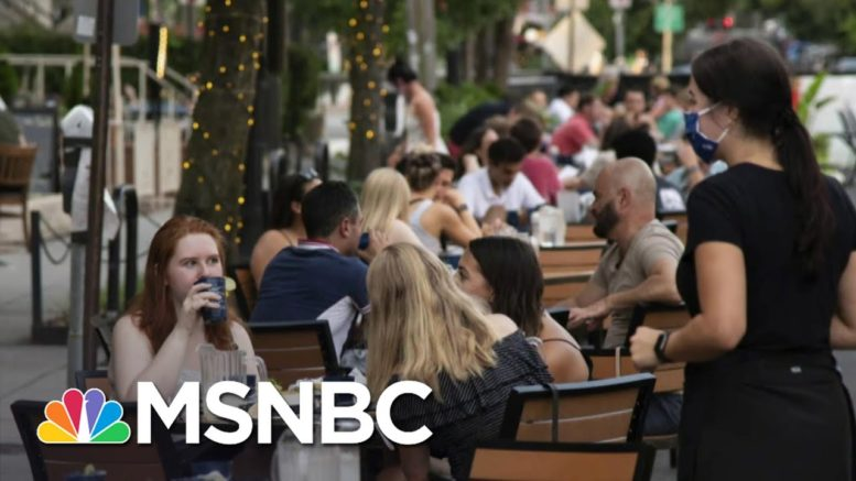 110K Restaurants Have Closed During The Pandemic | Stephanie Ruhle | MSNBC 1