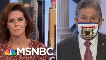 Manchin On COVID Relief Bill: All The Legislative Language Is There Ready To Go | Stephanie Ruhle 6