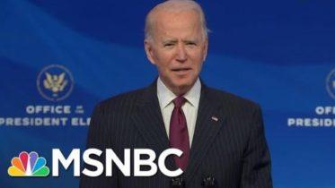 Biden Introduces Buttigieg As Transportation Secretary Nominee | MSNBC 6