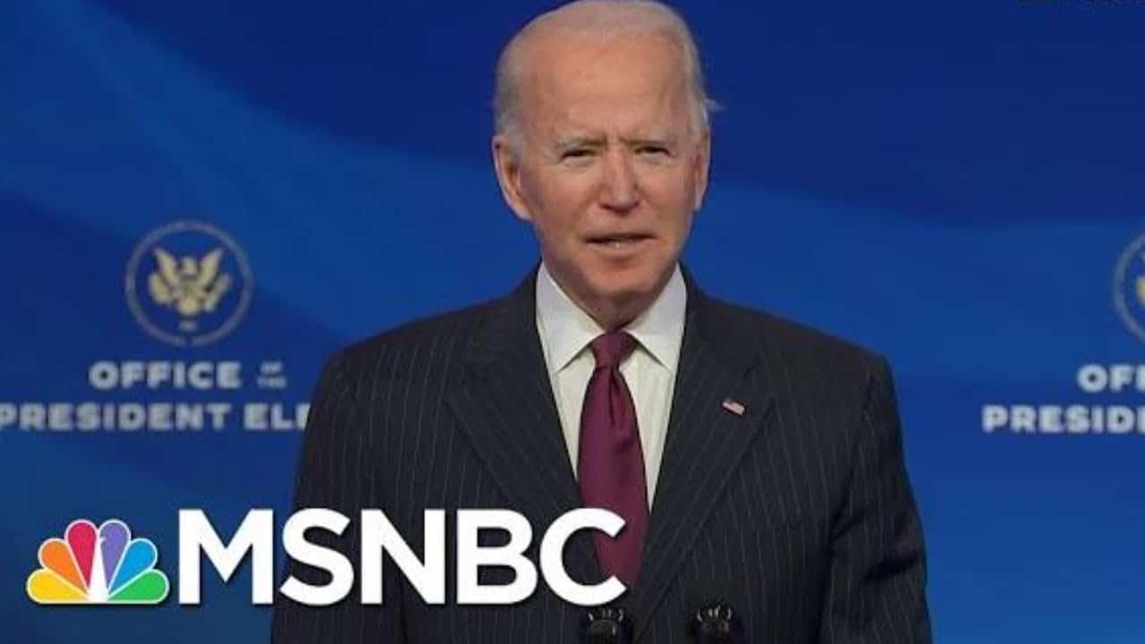 Biden Introduces Buttigieg As Transportation Secretary Nominee   MSNBC 6