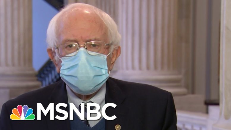 Sen: Sanders, 'Do I Think That This Bill Was Well-Negotiated? I Don't' | Andrea Mitchell | MSNBC 1