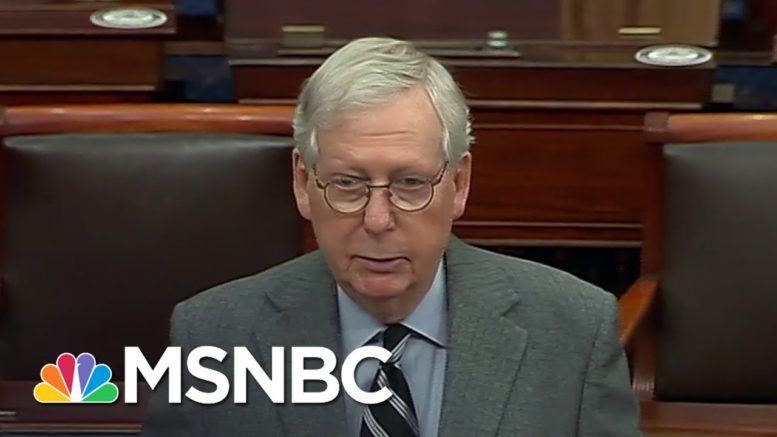 Bipartisan Senators Push Duo Of Coronavirus Relief Bills | Katy Tur | MSNBC 1