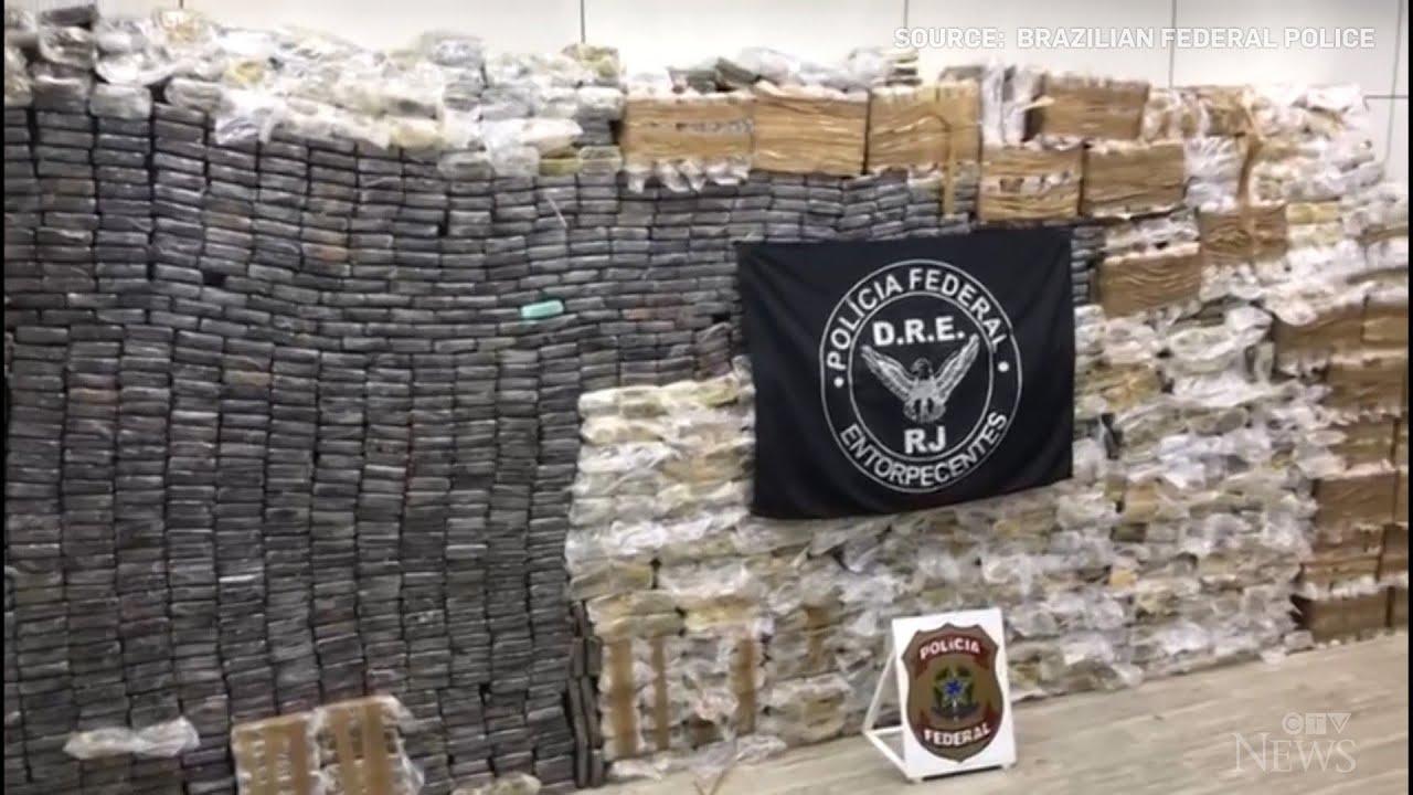 Record drug bust in Brazil 1
