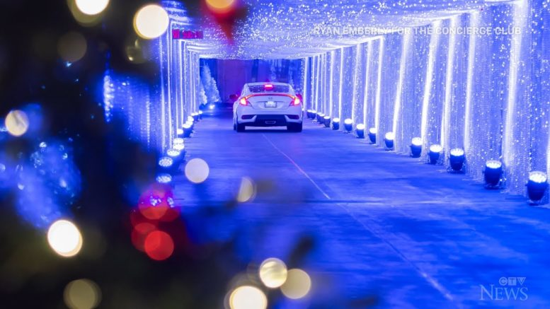 Multi-level Christmas drive-thru opens in Toronto 1