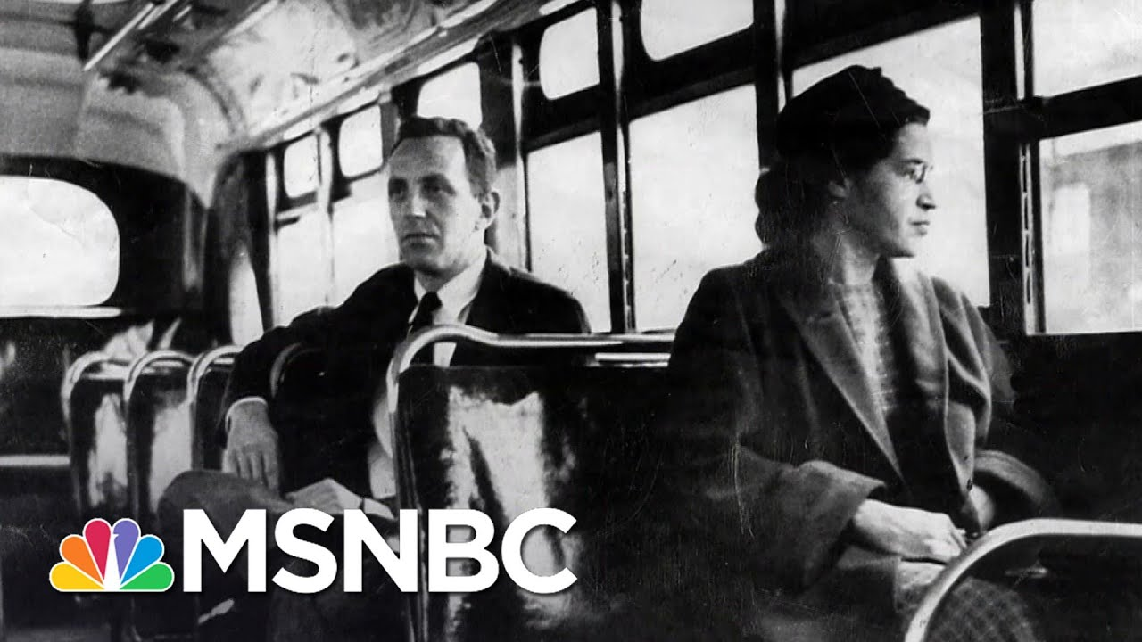 Racial Inequality In U.S., 65 Years After Rosa Parks' Montgomery Bus Boycott | The Last Word | MSNBC 1