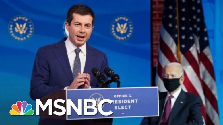 Buttigieg Makes History As First Openly Gay Cabinet Pick | The 11th Hour | MSNBC 1