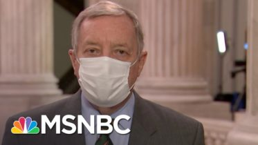 Durbin: I Am Shocked By 'Silence Of The White House' Regarding The Russian Hacks | Deadline | MSNBC 6