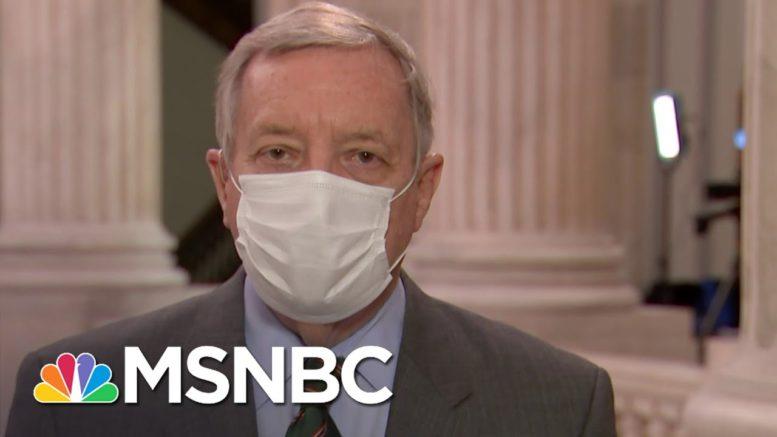Durbin: I Am Shocked By 'Silence Of The White House' Regarding The Russian Hacks | Deadline | MSNBC 1
