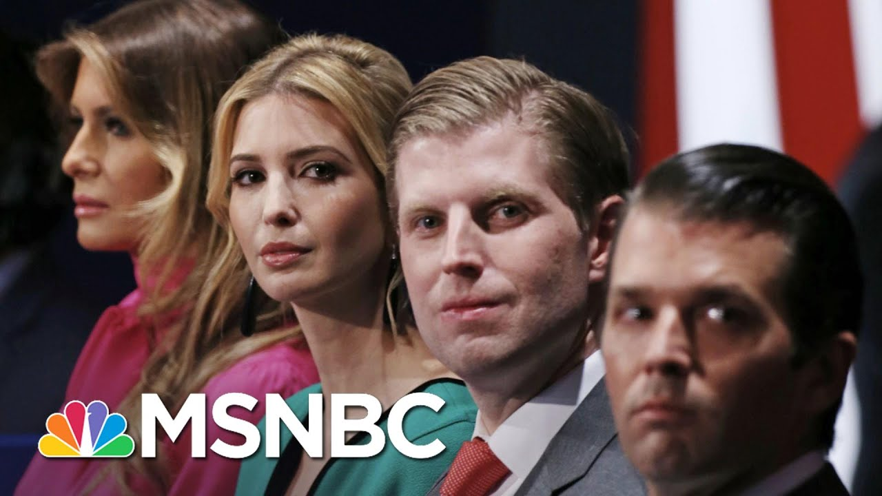 Fmr. FBI Lawyer: Why Would Trump's Kids Need 'Pre-Emptive Pardons'? | The 11th Hour | MSNBC 1
