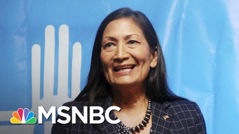 Biden Picks Haaland For Interior Secretary; First Native American Cabinet Member | Rachel Maddow 1