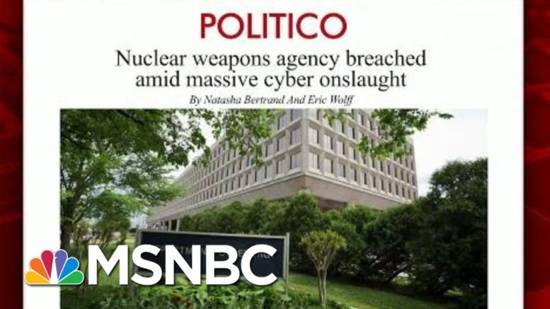 ''Grave Risk' From Suspected Russian Hacking, Officials Say | Morning Joe | MSNBC 1