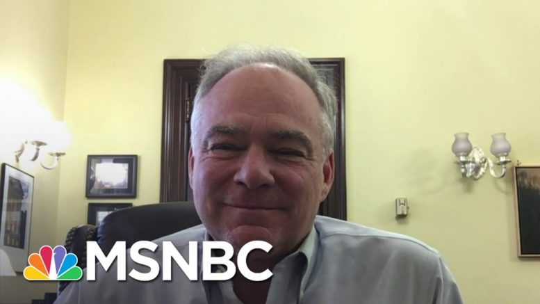 Sen. Kaine On COVID Relief Deal: 'I'm Very Confident We'll Get One' | Andrea Mitchell | MSNBC 1