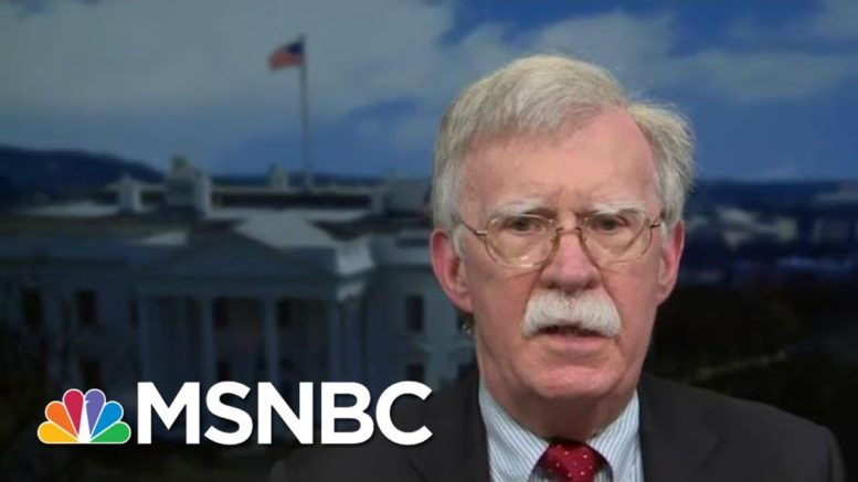 Amb. Bolton: Retaliation For Suspected Russian Hack Has To Be 'Top Priority' | MTP Daily | MSNBC 1
