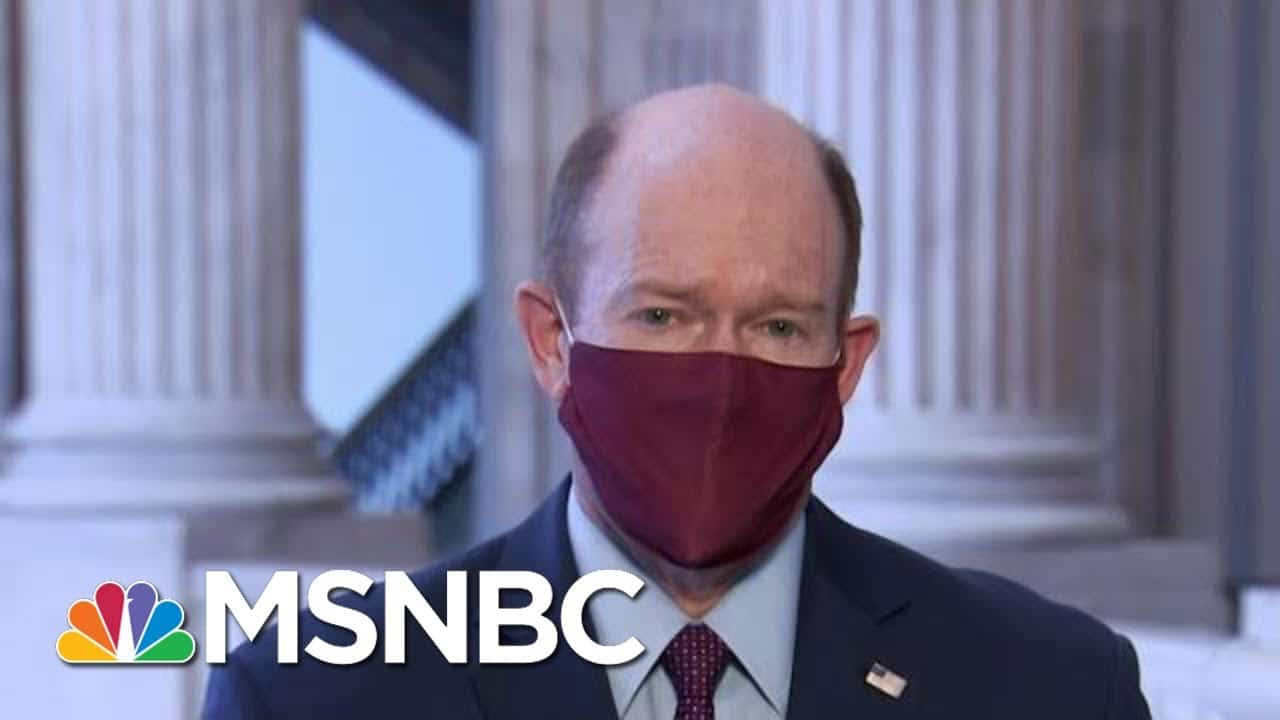 Chris Coons: It's Time For Both Parties To Reach Compromises On Covid Relief | MTP Daily | MSNBC 4