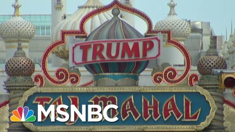 Atlantic City's Revenge: Blowing Up Trump's Casino For Charity | The Beat With Ari Melber | MSNBC 1