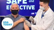 Vice President Pence receives COVID-19 vaccine | USA TODAY 5