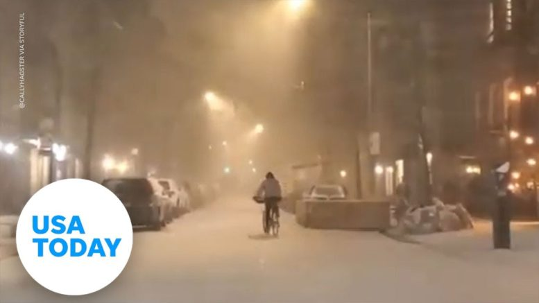 Huge winter snow storm hit the Northeast including New York, New Jersey and Maryland | USA TODAY 1