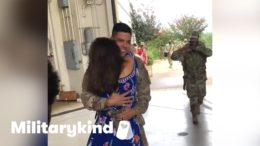 Wife jumps into soldier's arms after a year apart | Militarykind 2
